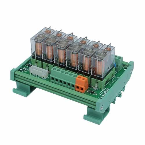 是哪些原因导致中间继电器模块接点烧毁呢?