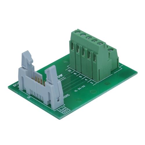 使用前检查端子台芯片产生导电的情况